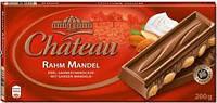 Немецкий шоколад Chateau (Шато) Rahm Mandel 200 g.