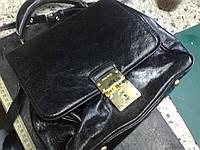 Ремонт замка на сумке MIU MIU