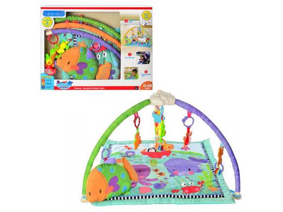 "Развивающий коврик для младенца ""Подводный мир"" М 1583, фото 2"