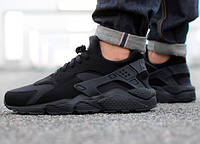 Кроссовки Nike Air Huarache black (унисекс)