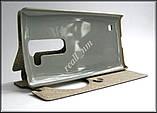 Сірий Smart Cover чохол-книжка для смартфона LG Spirit H422, фото 2