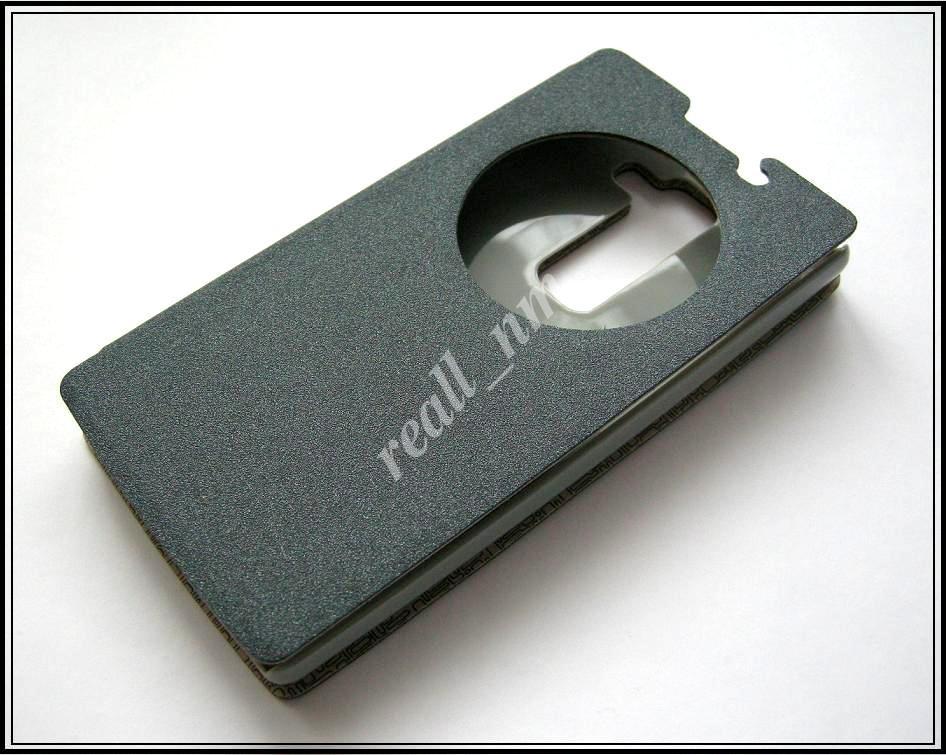 Серый Smart Cover чехол-книжка для смартфона LG Spirit H422