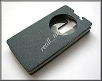 Серый Smart Cover чехол-книжка для смартфона LG Spirit H422, фото 1
