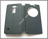 Сірий Smart Cover чохол-книжка для смартфона LG Spirit H422, фото 7