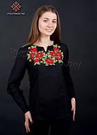 Женская вышитая сорочка 0066-ч, фото 1