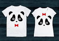 Парная футболка Панды