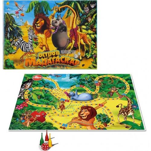 """Гра """"Острів Мадагаскар"""" малий. зростав. DTG31-O/DankoToys"""