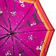 Великолепный женский зонт компактный полуавтомат ZEST (ЗЕСТ), Z23626-2  Антиветер!, фото 3