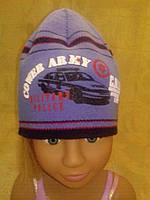 Шапка с машиной для мальчика, фото 1