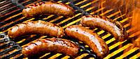 Колбаски на гриле по-Кобылянски