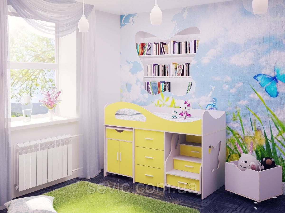 Детская кровать ДМ-48
