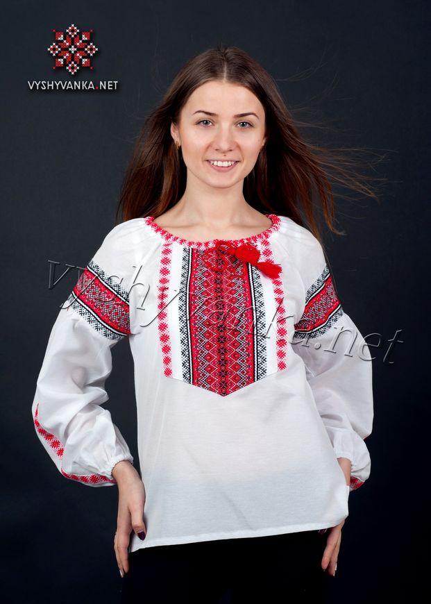 e937bd3a8d42e95 Женская вышитая рубашка 0042 - Патриотический интернет-магазин «Бандерівка»  в Киеве