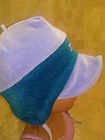 Велюровая шапочка на мальчика