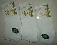 Носки женские Z&N бамбук Цвет черный белый Размер 36-39