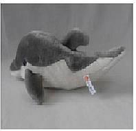Интерактивное мягкое животное 7586 48шт Дельфин,чип на русс,рассказ о животном, в пакете 22см