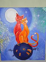 """Выставка картин """"Влюбленные животные"""""""