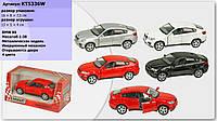 Машина металл KINSMART KT5336W 96шт4 BMW X6, в коробке 1687,5см