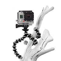 Гибкий штатив - осьминог для GoPro и телефона 16см (S)