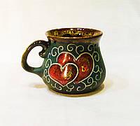 Горнятко кавове, декор Серце