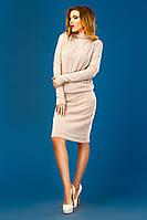 Платье с рукавом летучая мышь 10- 076
