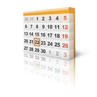 График работы магазина в период с 30.04.2014 по 12.05.2014.