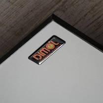 Керамічна рушникосушка DIMOL Standart 07, 370 Вт (чорна, рейлінг плоский), фото 3