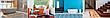 Коврик для ванной Морские звезды  ширина 65 см, фото 4