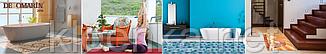 Коврик-дорожка в ванную, туалет, баню, сауну, пансионат, санаторий, Морские камушки, ширина 65 см, фото 2