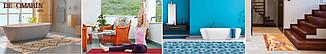 Коврик на кухню, коридор, ванную, туалет,  Абстракция, ширина 65 см, фото 2