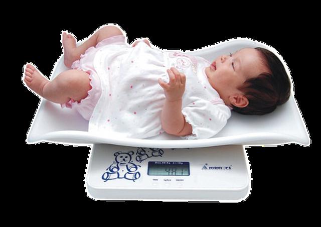 весы для новорожденного MOMERT 6425