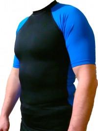 Рашгард с коротким рукавом RGB2 Blue