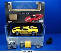 Машина аккум ру XQRC18-3 12штFord GT пульт на батар,,в кор, 2611см