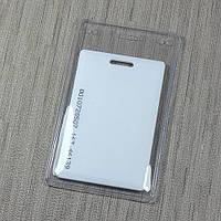 Вертикальный виниловый карман (бейдж) для бесконтактных карт ISO и Clamshell