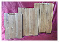 Доска деревянная разделочная торцевая 25х40 см дубовая