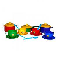 Набір посуду Маринка 1 в кульку арт.0687