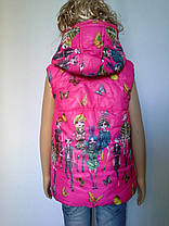 Жилетка для девочки мода, фото 2
