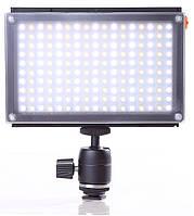 Накамерный видео свет Lishuai (Оригинал) LED-170AS (Би-светодиодная) + шарнирный держатель (LED-170AS), фото 1