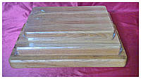 Доска деревянная разделочная профессиональная (торцевая)25х35см