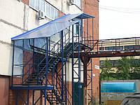 Эксплуатационное испытание наружной пожарной лестницы