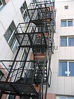 Пожарные лестницы маршевые