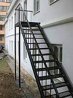 Пожарную лестницу длиной