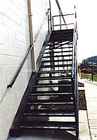 Лестницы пожарные наружные стационарные