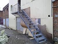 Лестница эвакуационные наружные