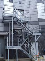 Навесная пожарная лестница