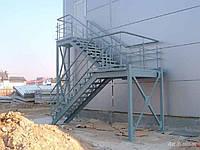 Ограждения лестничных проемов пожарные лестницы