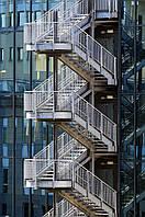 Пожарная складная лестница
