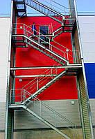 Пожарная лестница на чердак