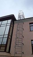 Наружная эвакуационная лестница требования