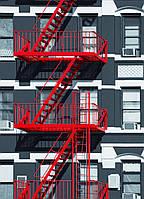 Пожарная лестница наружная