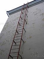 Эвакуационная лестница металлическая нормы